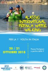Affiche alassio international french water walking