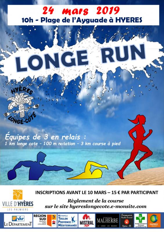 Longe run 2019 affiche